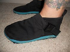 Homemade shoes