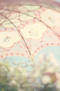 Parasols are always nice for the very sunny days ahead. Now if only they were easier to find in stores!