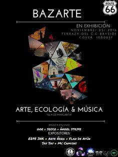 """""""Arte, Ecología y Música"""" vivirá la Isla De Margarita en BAZARTE http://crestametalica.com/arte-ecologia-y-musica-vivira-la-isla-de-margarita-en-bazarte/ vía @crestametalica"""