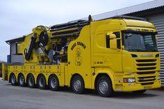 Jacked Up Trucks, Used Trucks, Big Rig Trucks, Rc Trucks, Tow Truck, Custom Trucks, Pickup Trucks, Crane Construction, Truck Art