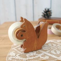 Squirrel Tape Dispenser, $16, now featured on Fab.