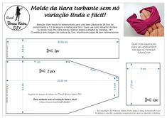 Knotless turban tiara template, beautiful and easy variation! Sewing Headbands, Fabric Headbands, Pink Headbands, Turban Headbands, Diy Headband, Tiara Diy, Hand Embroidery Patterns, Sewing Patterns, Embroidery Stitches