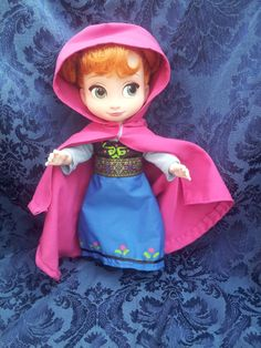 """Disney Princess Animator's Collection (16"""" Doll) - Anna from Frozen Adventure Costume"""