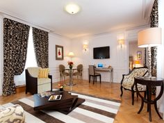 Enjoy a luxurious space in the Prestige Suite.