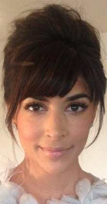 Hannah Simone Eye Makeup