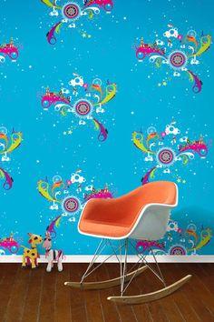 Fun at the Fair - Kids Wallpaper Ideas & Designs (houseandgarden.co.uk) - Wall Library