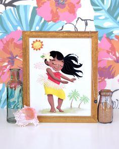 Wall Art Print Island Dancer by AlisaHaggard on Etsy
