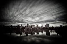 Long exposure of Portland