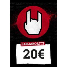20,00 EUR - Lahjakortti - Lahjakortti