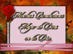 Imágenes Cristianas: Día de la Mujer Neon Signs, Amor, Christian Pictures, Christians, Happy Woman Day, Guestbook, Dia De Reyes