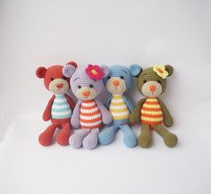 This is a PDF pattern simple Bunny or Teddy оnly and not the finished item!!! This written crochet pattern includes all the instructions needed to