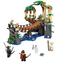 LEGO  ninjago  movie  master  falls  70608  building  kit  312  piece