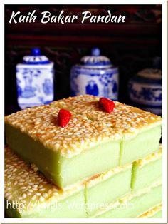 Local Baked Custard? Kuih Bakar Pandan Or Kuih Kemboja (香兰烘糕)#guaishushu #kenneth_goh #kuih_bakar_pandan #香兰烘糕 #kuih_kemboja