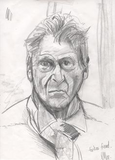 Lucian Freud Drawings | lucian freud by ryza27 traditional art drawings people 2008 2014 ...
