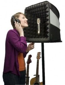DIY Portable Sound Booth - I could have used this when I was younger.. still can! ((:
