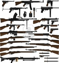 weapons used in ww2 - Bing Images
