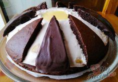 Banánový dort Vajíčko | NejRecept.cz Izu, Nutella, Cheesecake, Food And Drink, Pudding, Cookies, Hungarian Recipes, Cheesecake Cake, Biscuits