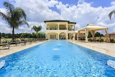 Resort Mansion, Reunion, FL, 10 bedrooms, $108 per night. These stunning rentals can cost a pretty penny, but if you corral some friends or family together to split the bill, you could end up staying in a luxury mansion for way cheap.