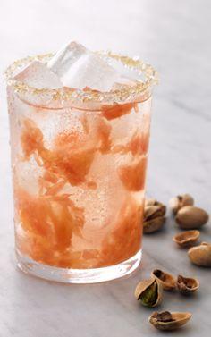 Blushing Duchess  - vodka,  grapefruit,  and triple sec.
