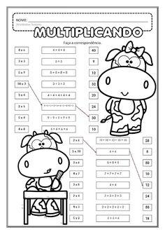 Multiplicação EM PDF | Atividades Pedagogica Suzano