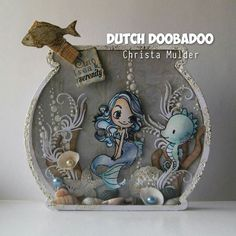 Dutch Doobadoo card art