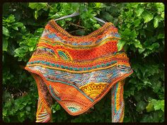 CROCHETED SHAWL  BAKTUS by LOFITA on Etsy