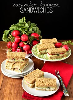 Let's Party: Easy Finger Sandwiches for Party Season