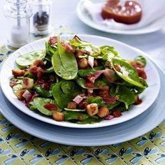 20-Minuten-Salat mit Schinken und Croûtons Rezept