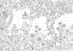 Secret Garden Coloring Book - Bing Images