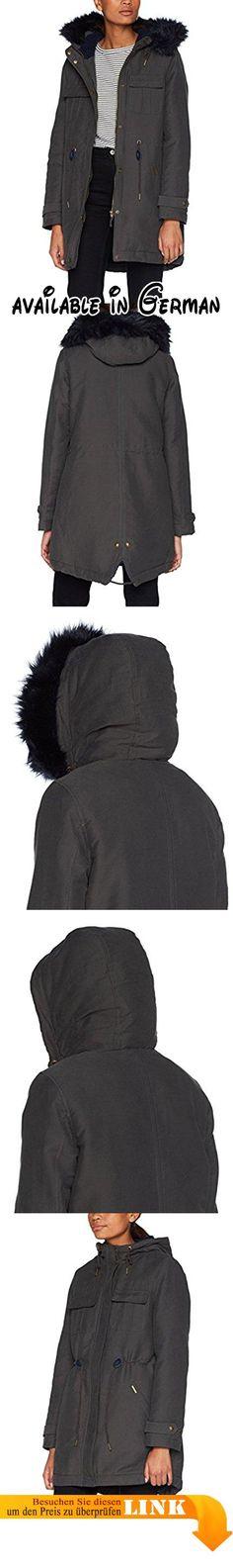 LTB Jeans Damen Jeansjacke Destin, Grau (Silvermoon Undamaged Wash 50365),  36 (Herstellergröße: S). Trendige Jeansjacke