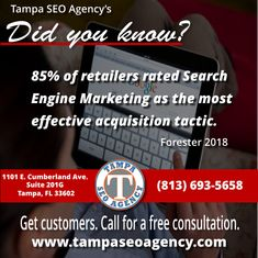 Tampa SEO Agency is a digital marketing agency and SEO company in Tampa, Florida that offers web design, PPC, SEO services, and internet marketing services. Internet Marketing Agency, Seo Agency, Content Marketing, Social Media Marketing, Digital Marketing, Search Engine Marketing, Seo Company, Seo Services, Web Design