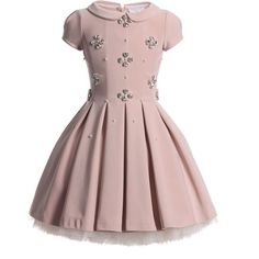 Our designer dresses for girls are perfect for any occasion, featuring casual designs, elegant formal wear and classic pinafores. Baby Girl Fashion, Kids Fashion, Little Girl Dresses, Girls Dresses, Dusky Pink Dress, Dress Out, Couture Dresses, Kind Mode, Baby Dress