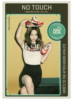 Lee Hyori Photoshoot for Puma Social