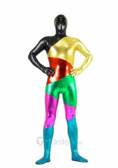 Go big or go home. Pride Zentai suit.