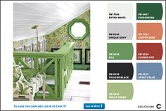 find the color palette of any online photo with Chip it! tool from Sherwin-Williams