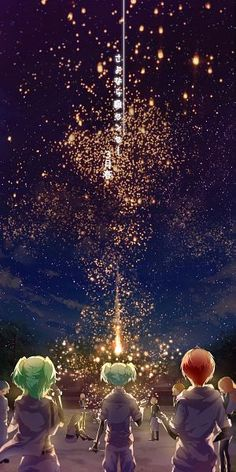 """""""Wish upon a firework, then maybe it would come true before the lights disappear."""" - DA 