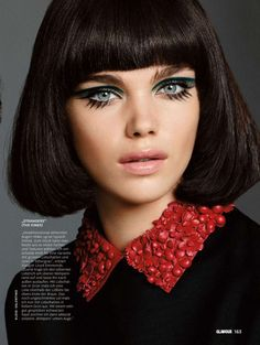 """Modern Mod"" Glamour Germany November 2014                                                                                                                                                                                 More"