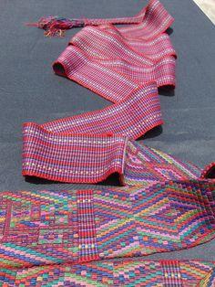 Authentic Antique Mayan Handwoven Hand Embroidered Faja/Belt from Nebaj, Quiche, Guatemala Bird Butterfly Motif One of a Kind Wearable Art Mayan Symbols, Viking Symbols, Viking Runes, Ancient Symbols, Egyptian Symbols, American Indian Tattoos, Chicano Tattoos, Wiccan Tattoos, Inca Tattoo