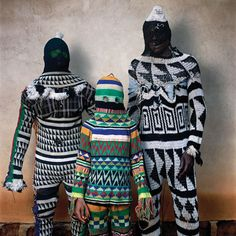 Large-scale color photographs from 2005 to 2006 reflect the ritual adornment and spirituality of masquerade in Nigeria, Benin and Burkina Faso in West Africa. These portraits of masqueraders build on Galembo's work of the past twenty years photographing the rituals and religious culture in Nigeria, Brazil, Cuba, Jamaica and Haiti, as well as the homegrown custom of Halloween in the United States.