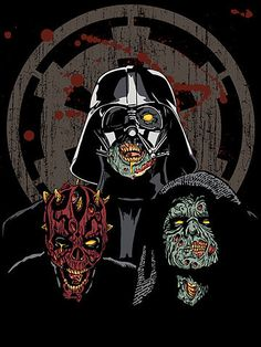 zombies and starwars? awesome
