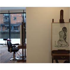 Airbrush art 1970s and english on pinterest for Adee phelan salon birmingham