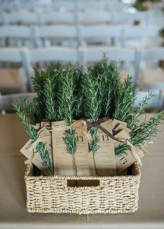 Pine Tree Wedding Decor | blog.theknot.com