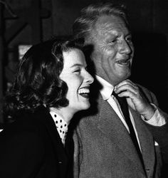 They had a special and strong love going on!!!  Katharine Hepburn and Spencer Tracy