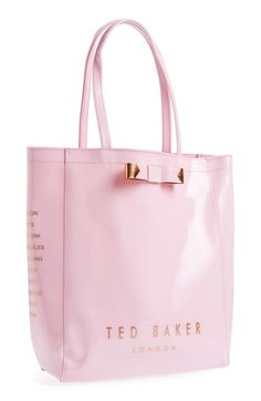 Spotted this pink Ted Baker tote at #nsale. Totally obsessed