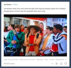 """""""Tumblr is really just a big blue <i>High School Musical</i> fansite and everybody knows it."""""""