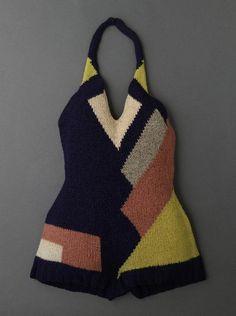 Swimsuit, Sonia Delaunay 1928.