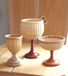 Nantucket Basket Glass series by handvaerker