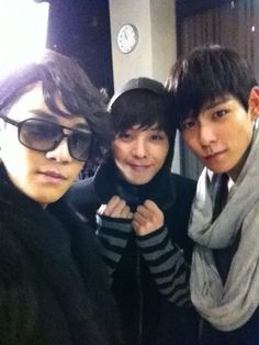 Seungri, GD,TOP --Secret Garden parody #BIGBANG