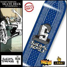 suicidal skateboard deck