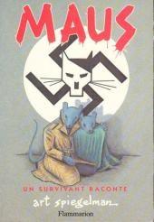 Art SPIEGELMAN - Maus : tome 1 (Flammarion). Période historique : Seconde guerre mondiale